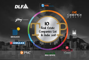 Top 10 Real Estate Companies List In India 2018