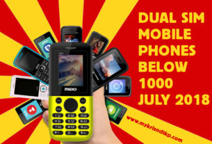 DUAL SIM MOBILE PHONES BELOW 1000 JULY 2018