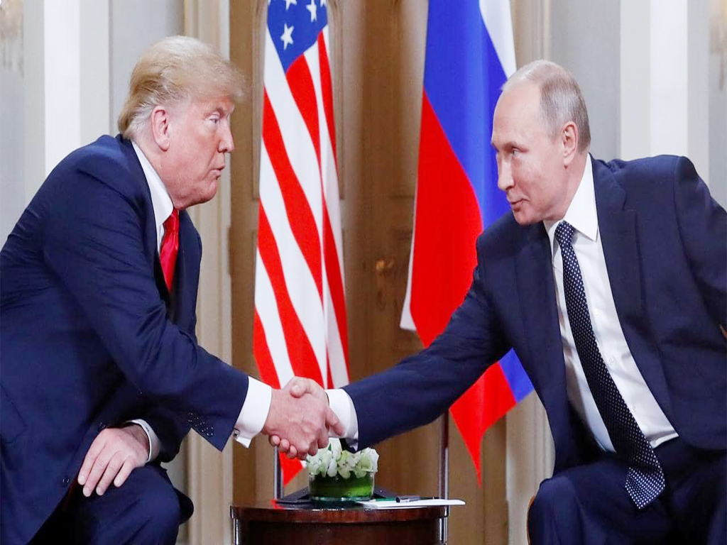 Donald Trump And Vladimir Putin Meeting Reaction