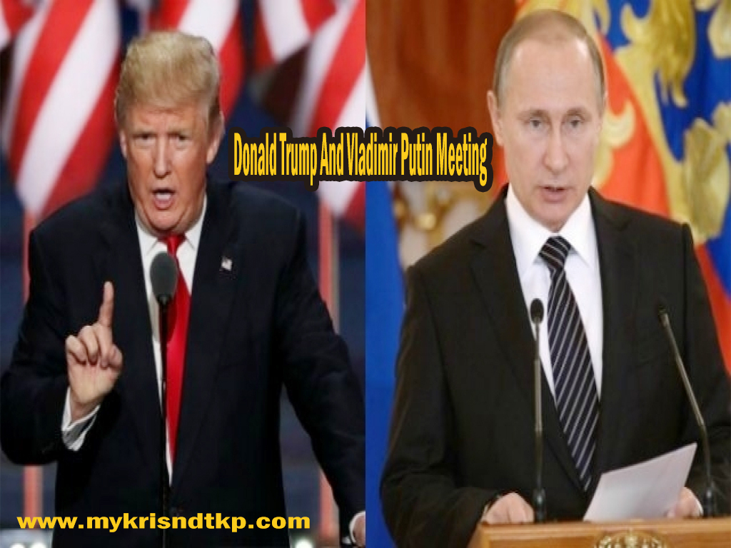 Donald Trump And Vladimir Putin Meeting