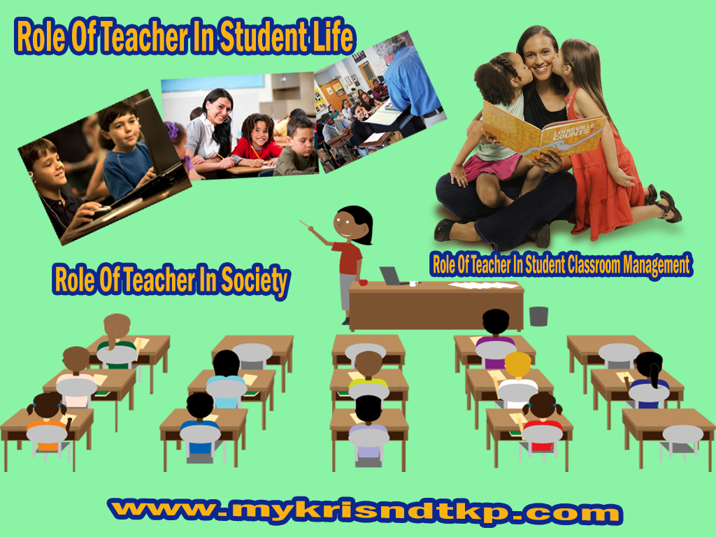 Role Of Teacher In Student Life Classroom Society