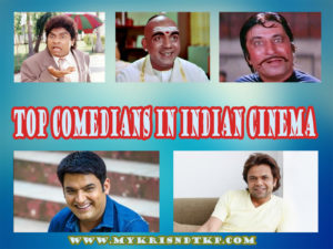 Top Comedians Indian Bollywood Cinema