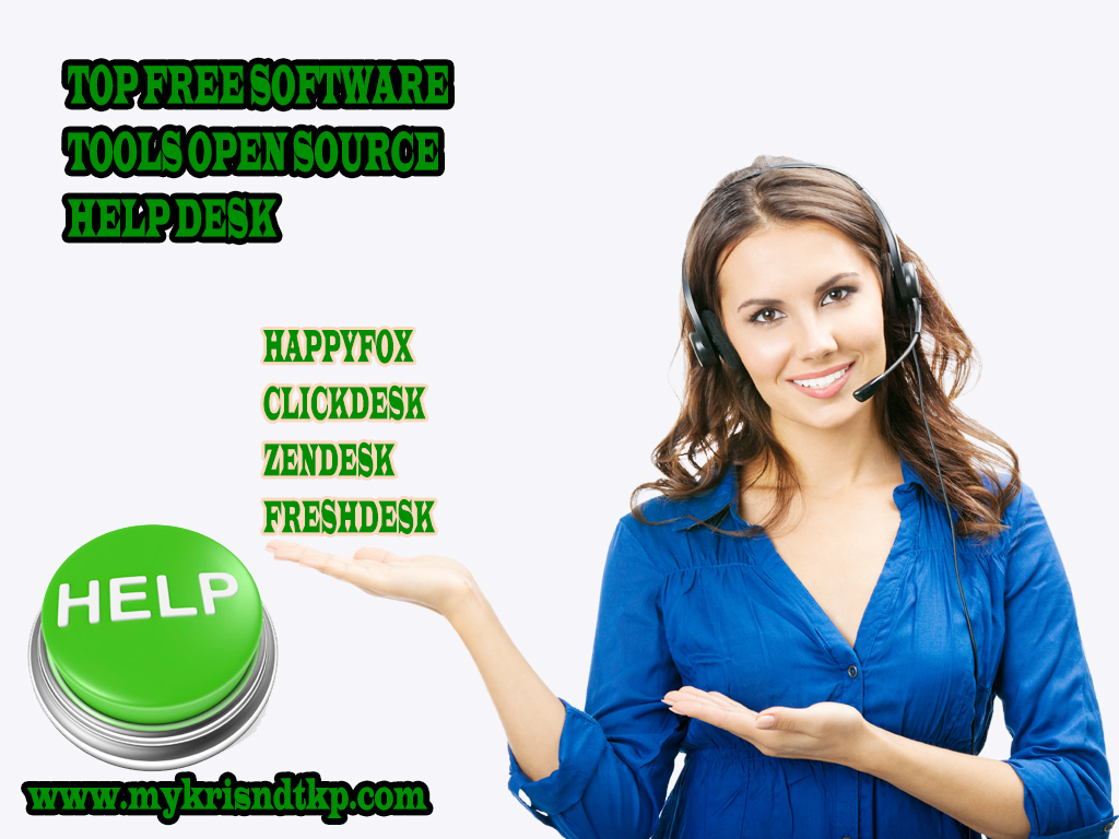 Free Software Tools Open Source Help Desk