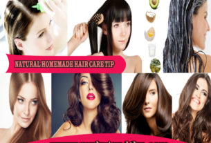 Natural Homemade Hair Care Tips