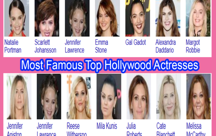 Most Famous Top Hollywood